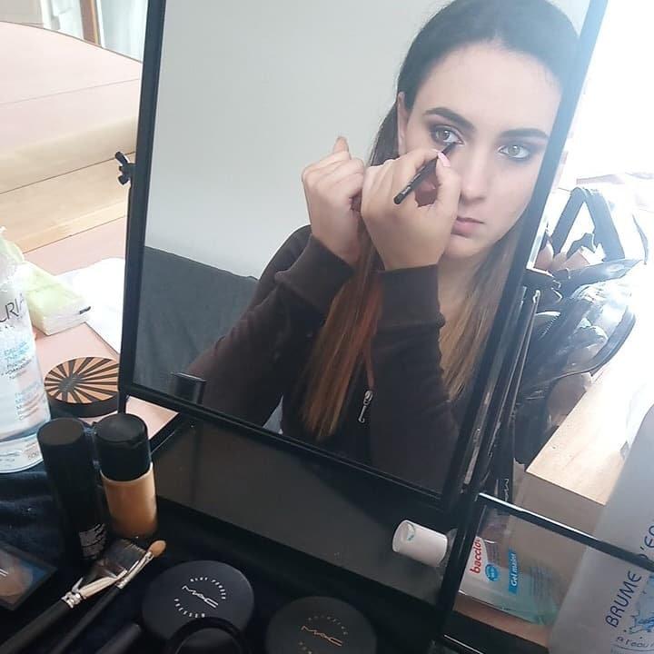 Cours de maquillage inviduel