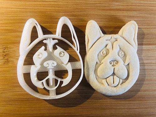 Akita Cookie Cutter