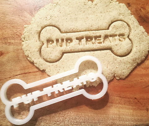 Personalized Cookie Cutter Bone Shape