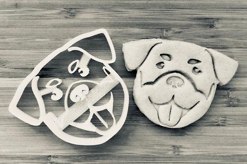 Rottweiler  Cookie cutter - Rottie Cookie Cutter - Rottweiler treats - Rottweile