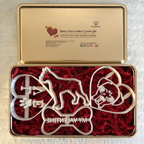 Bake a Pup a Heart Set-Boxer