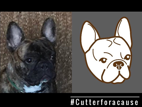 Custom cookie cutter of your pup!