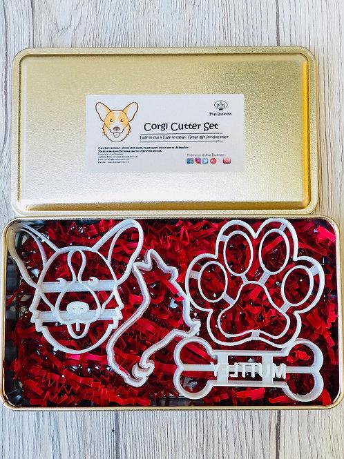 Corgi Cookie Cutter Set