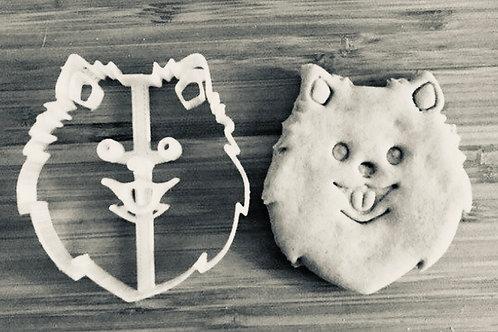 Pomeranian Dog cookie cutter - Pomeranian cookie cutter - pomeranian gift