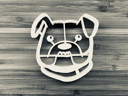 Ludo the bulldog cookie cutter