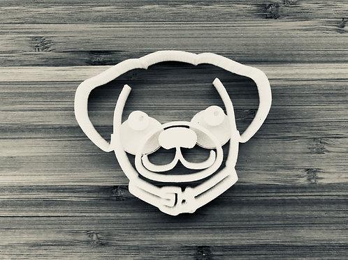 Halo the Pug
