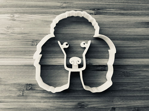 The Poodle Cookie Cutter