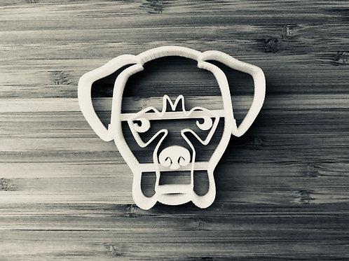 Tyson the Boxer Cookie Cutter