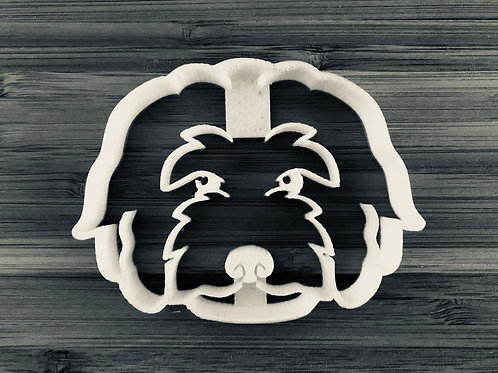 The Golden Doodle Cookie Cutter