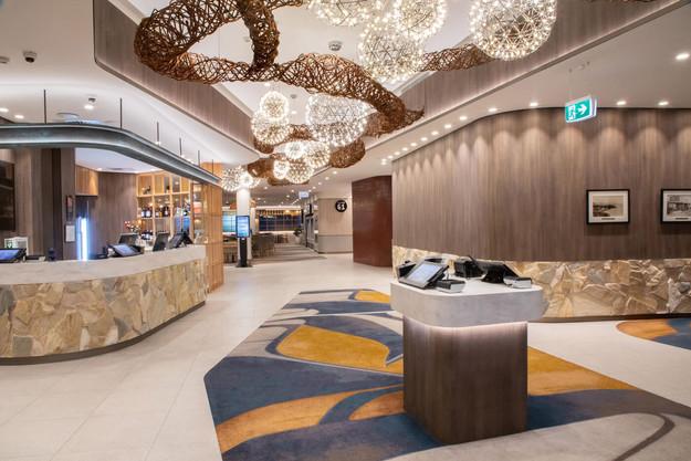 The Builders Club Foyer