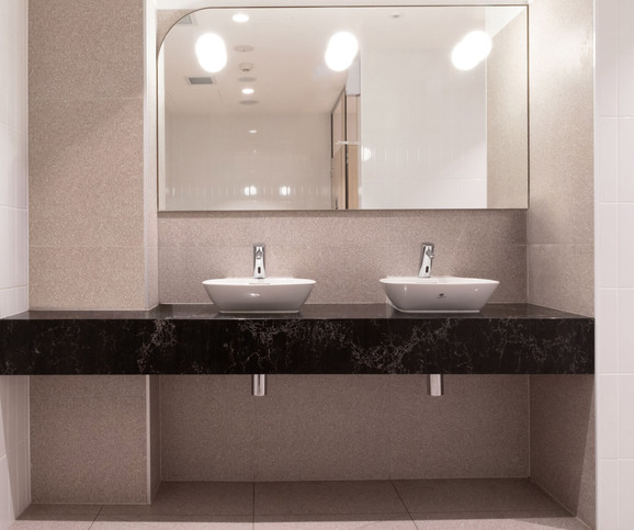 The Builders Club Bathroom