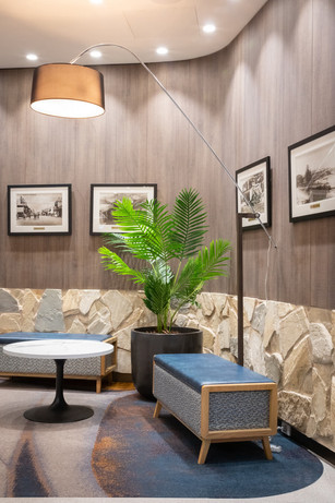 The Builders Club sitting area
