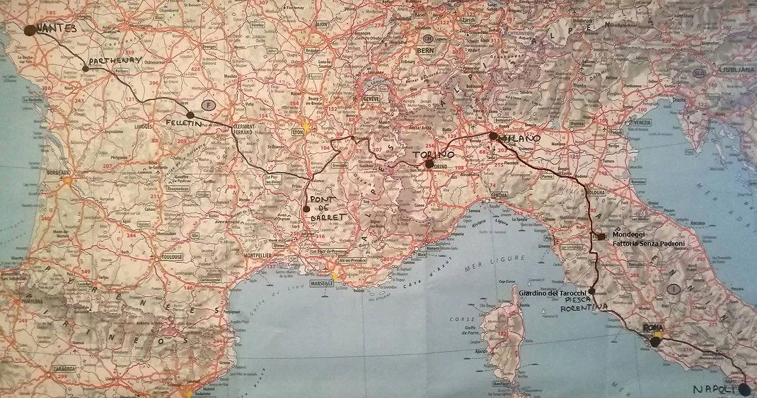 updated MAP WTH MONDEGGI and giardino de