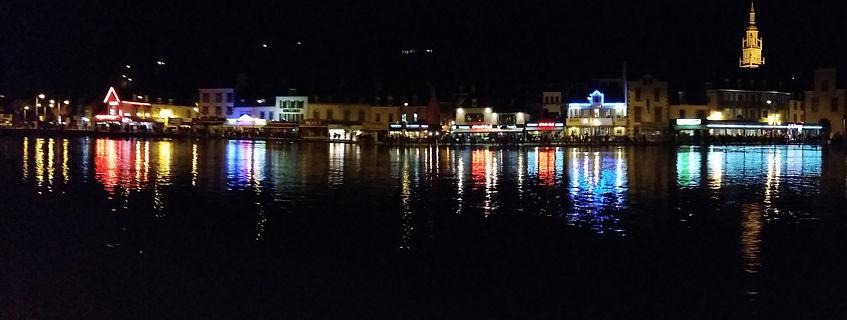 binic de nuit par grande marée