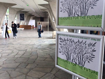TREASURES FOR THE FUTURE at UNESCO Headquarters in PARIS