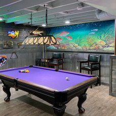 Fish Tank in the Game Room