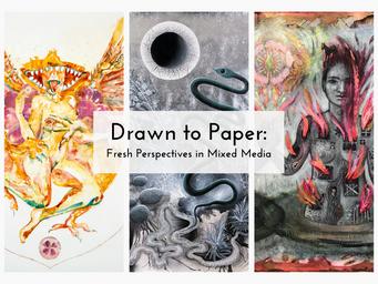 DRAWN TO PAPER / Brea Art Gallery