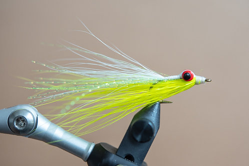 Clouser Minnow - Chartreuse and White