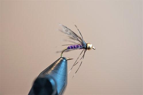Soft Hackle Purple Beadhead