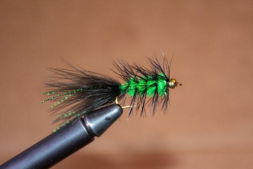 Krystal Bugger Green and Black
