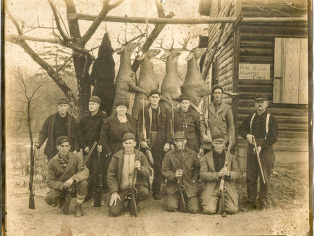 Old Hunting Photographs