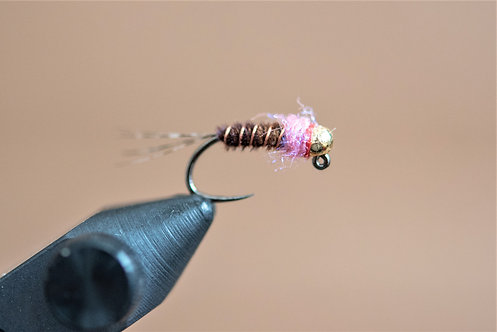 Frenchie - UV Pink w/Tungsten Bead
