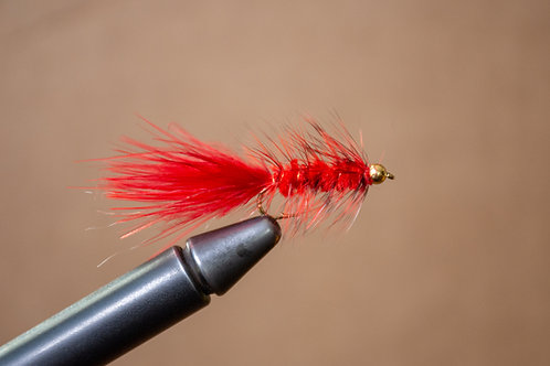 Wooly Bugger - BH Red