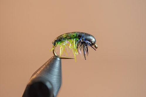 Czech Nymph - Catnip Black and Chartreuse