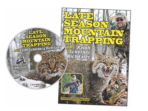 Late Season Mountain Trapping - DVD