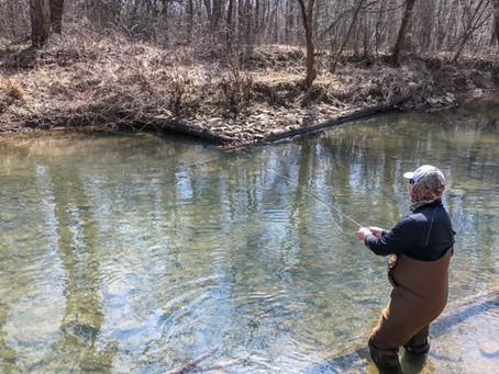 Low Water Tactics: Fishing the Buffalo Creek DHALO