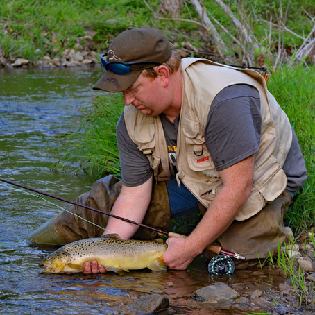 Gettysburg Battlefield Trout Fishing
