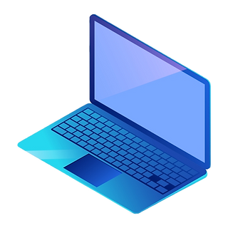 pngtree-blue-electronics-laptop-png-imag