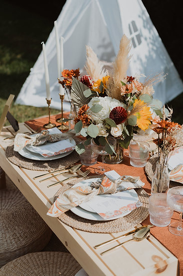 Fall Harvest Luxury Picnic Rental - Starting at 2 People