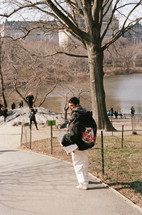 ryan in centralpark