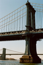 manhattan- and brooklynbridge
