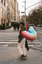 ryan with baloon