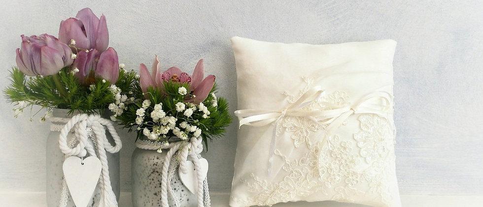 Cuscino portafedi personalizzato