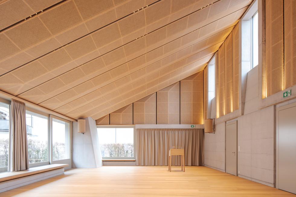 Wir freuen uns über die Fertigstellung! Kirchgemeindezentrum Rüti (mit Daniel Nyffeler Architekten)
