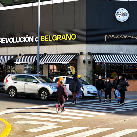 París Crepas desembarca en Belgrano con un servicio de Take Away Plus
