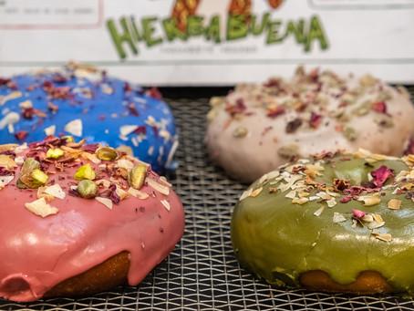 Hierbabuena Vegan celebra el Día Mundial de la Donut con una promoción especial