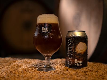 Lo nuevo de Peñón del Águila: Cautiva Sour Ale de Barrica, una cerveza añejada