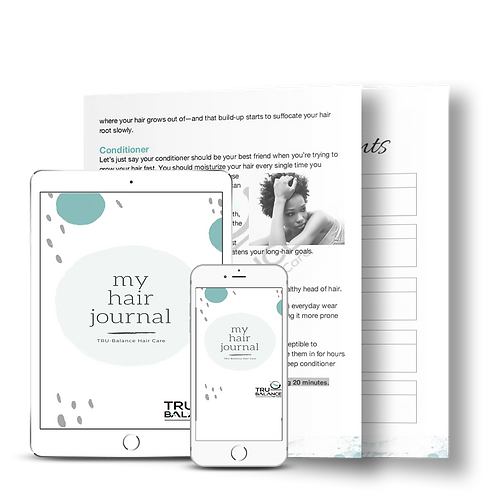"""My Hair Journal""  Downloadable Guide"