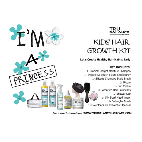 I AM A PRINCESS | KIDS HAIR GROWTH KIT
