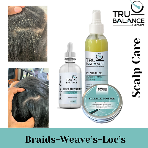 Braids, Weave & Scalp Care