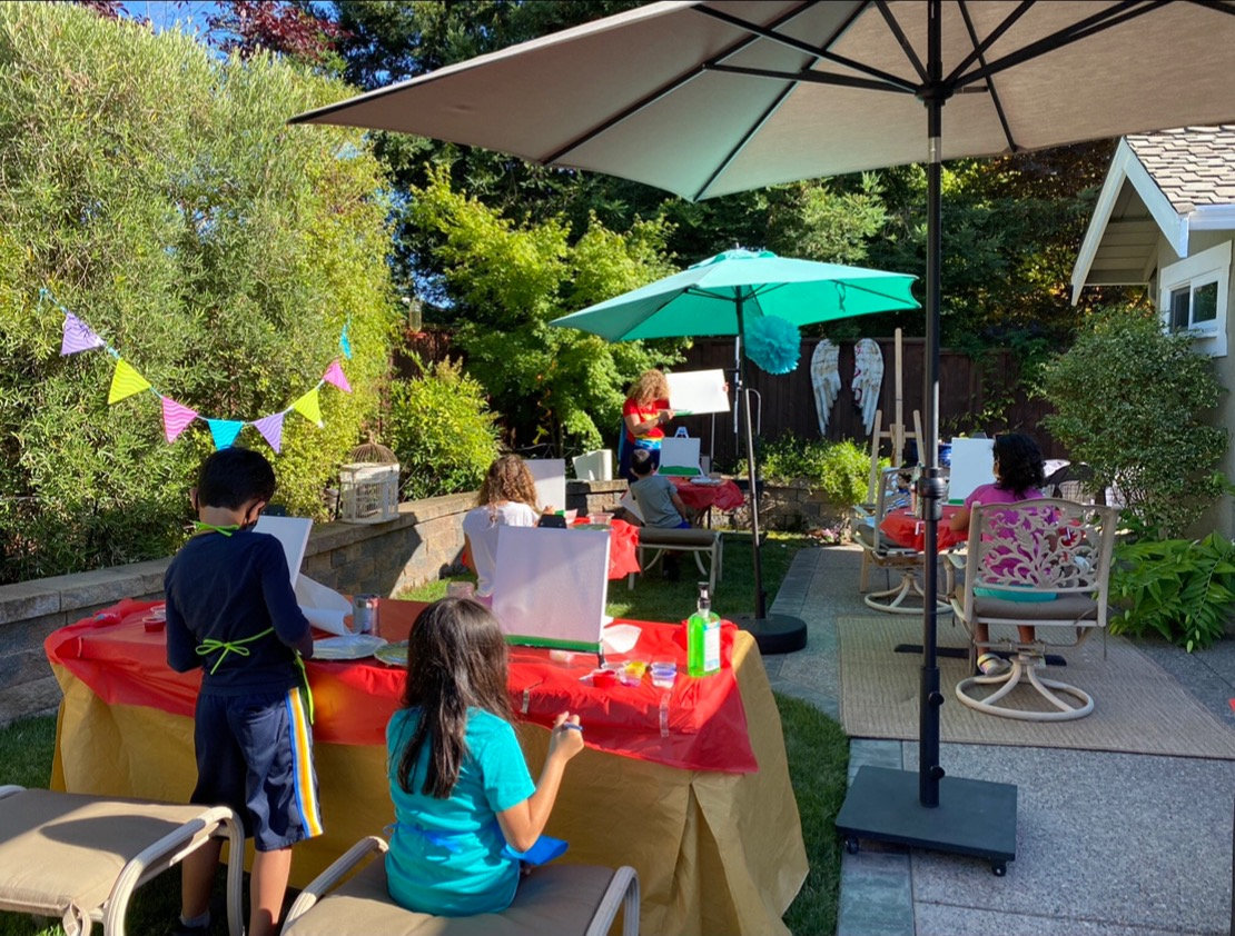 In Person Art Classes Outdoor