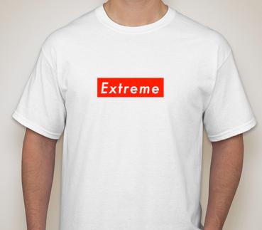 EXTREME - white tee