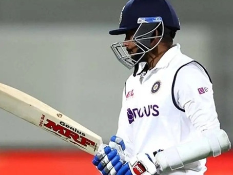 Prithvi Shaw posts cryptic message after Adelaide Test.