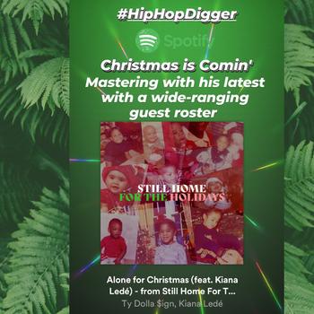 Ty Dolla $ign (feat. Kiana Ledé) - Alone For Christmas