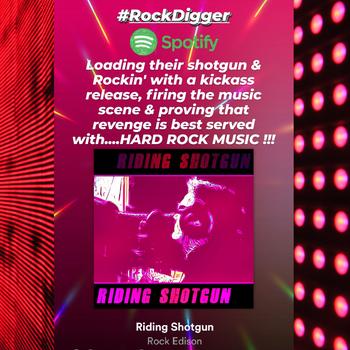 Rock Edison - Riding Shotgun