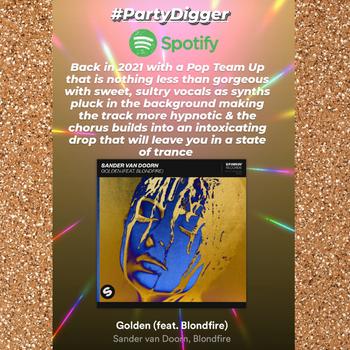 Sander van Doorn - Golden (feat. Blondfire)